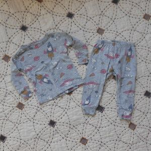 5/$10 Carter's 2 Piece Rocket Bunny Pajama Set